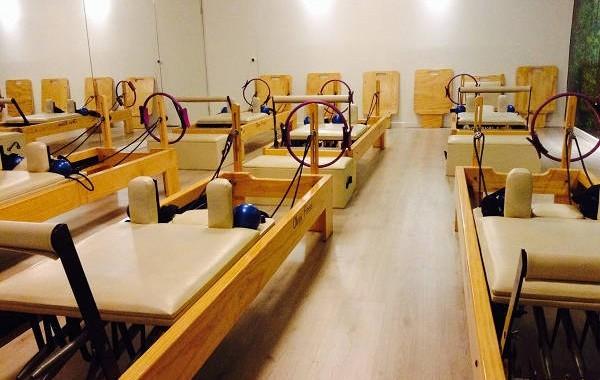 Sala de Pilates Reformer